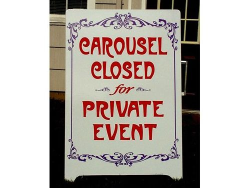 Carousel A-Board