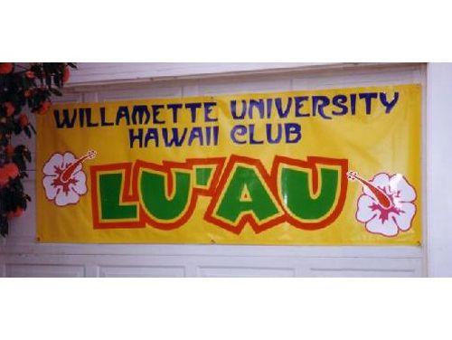 Willamette University Luau