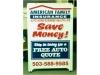 American Family Insurance A-Board