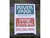 River Park A-Board