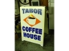 Tabor Coffee A-Board