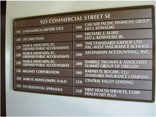 925 Commercial St. directory