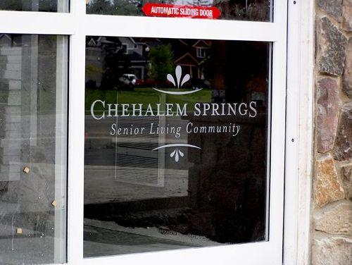 Chehalem Springs etching
