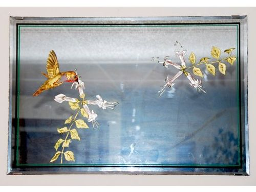 Hummingbird Mirror