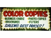 Color copies ad