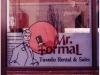 Mr. Formal closeup