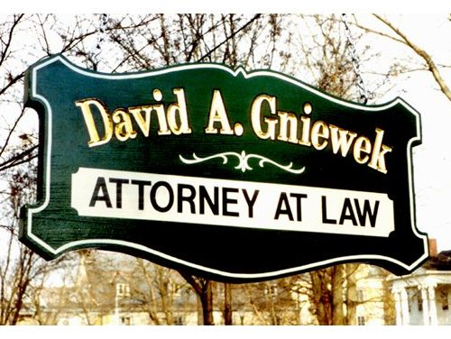 David A. Gniewek Attorney at Law